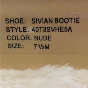 Michael Kors Shoes - Never worn Michael Kors Sivian Bootie in Nude